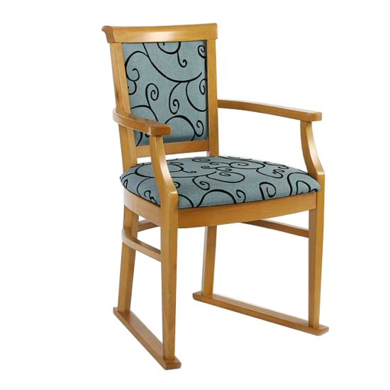 Care Home Seating: Dining Chairs Monza Carver Chair