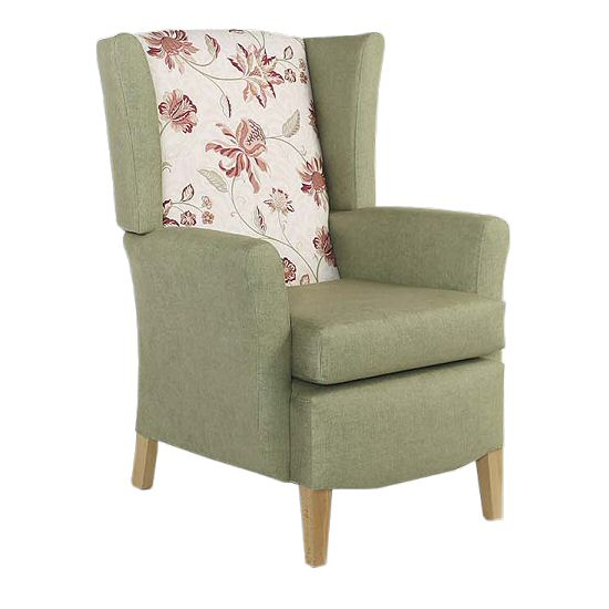Care Home Seating: Sofas & Chairs Cordoba Wing Chair