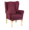 Care Home Seating: Sofas & Chairs Kensington Wing Chair