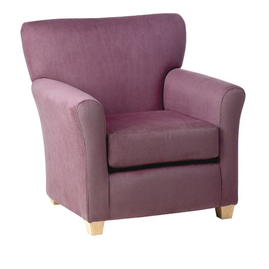 Care Home Seating: Sofas & Chairs Milan Armchair