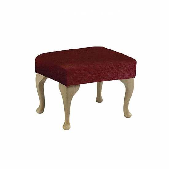 Care Home Seating: Footstools... Queen Anne Footstool