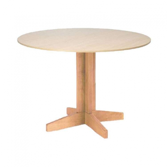 Care Home Furniture: Dining Room Centre Pedestal Dining Tables