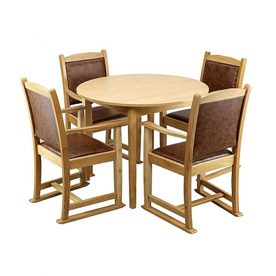 Care Home Furniture: Dining Room Seville Dining Set